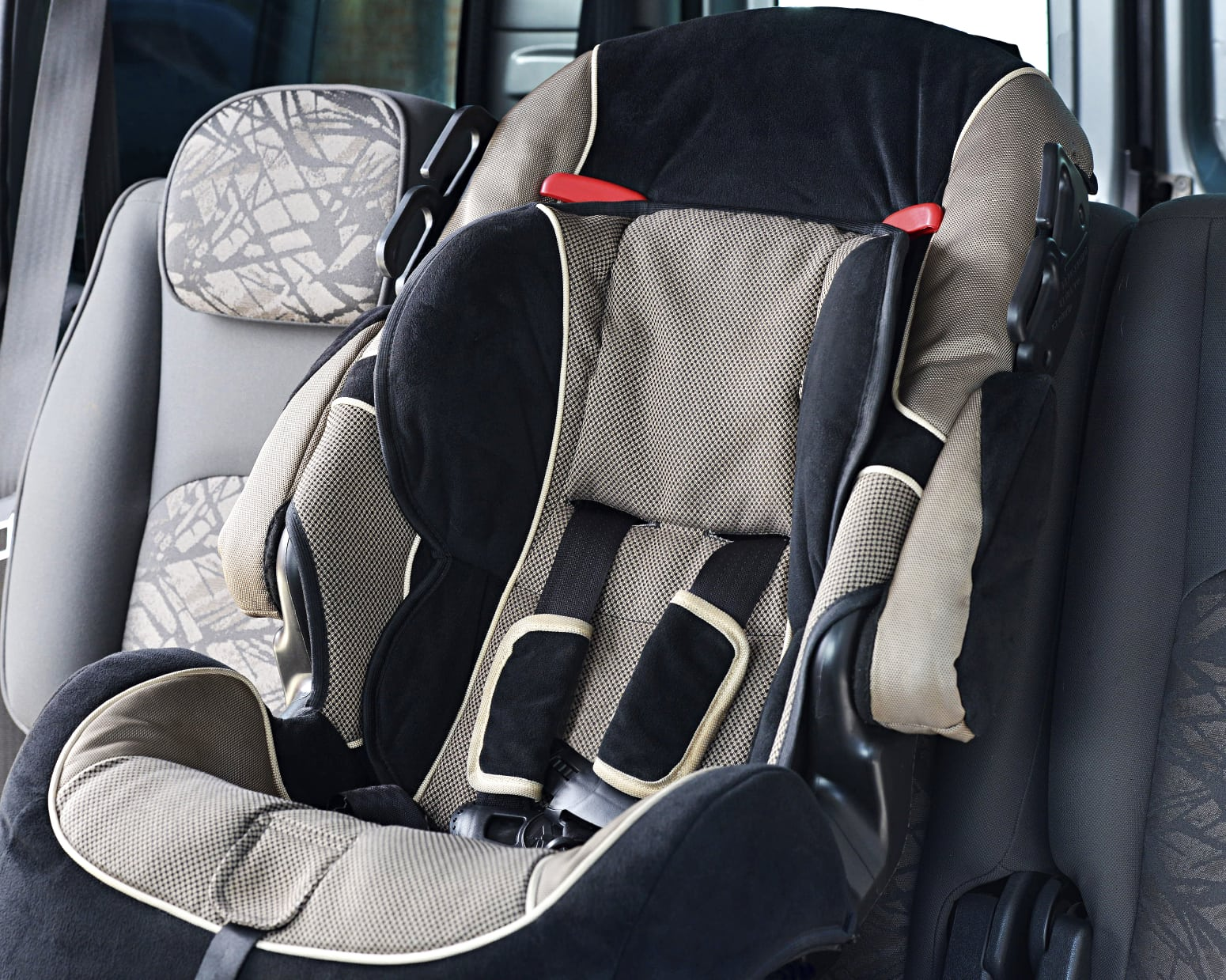 Child's Car Seat Stock Photo
